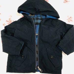 Reversible hoodie jacket burberry size 2